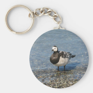 Barnacle Goose Keychain