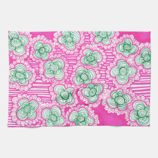 Barnacles and Brussel Sprouts Kitchen Towel
