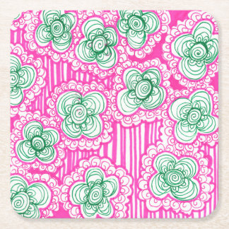 Barnacles and Brussel Sprouts Square Paper Coaster