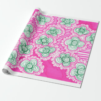 Barnacles and Brussel Sprouts Wrapping Paper