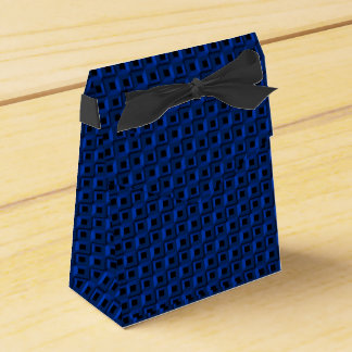 Barnacles in Blue Tent Favor Box