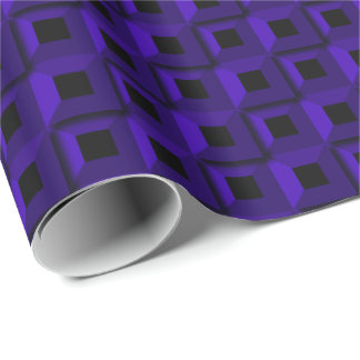 Barnacles in Dark Blue Wrapping Paper