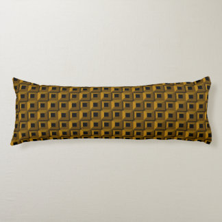 Barnacles in Gold Body Pillow