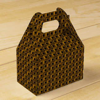 Barnacles in Gold Gable Favor Box