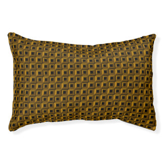 Barnacles in Gold Indoor Dog Bed