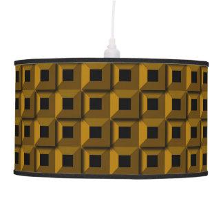 Barnacles in Gold Pendant Lamp