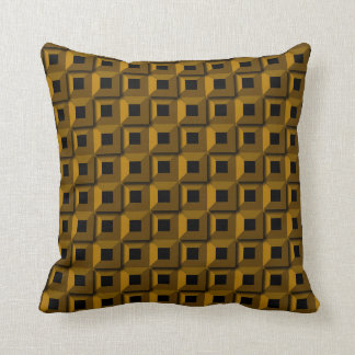 Barnacles in Gold Throw Pillow