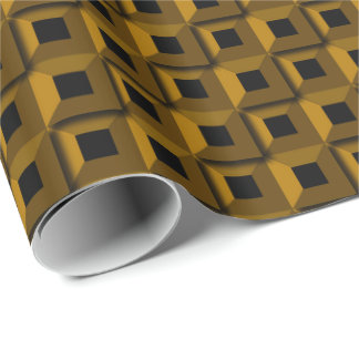 Barnacles in Gold Wrapping Paper