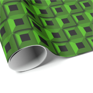 Barnacles in Green Wrapping Paper