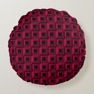 Barnacles in Pink Round Pillow
