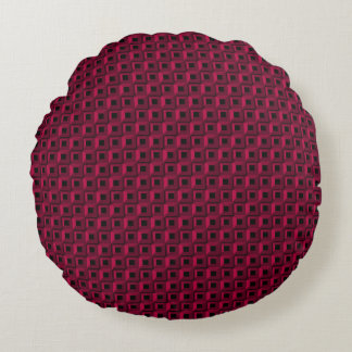 Barnacles in Pink Round Throw Pillow