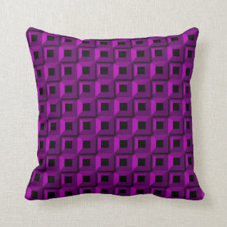 Barnacles in Purple Throw Pillow