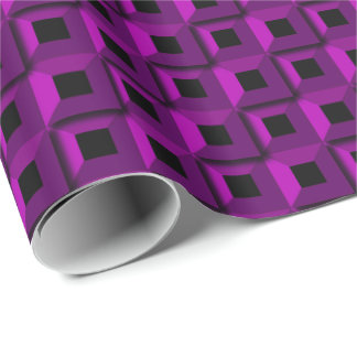 Barnacles in Purple Wrapping Paper