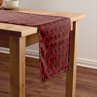 Barnacles in Red Table Runner