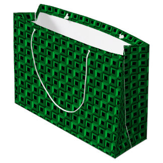 Barnacles in Teal Large Gift Bag Only