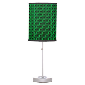 Barnacles in Teal Table Lamp
