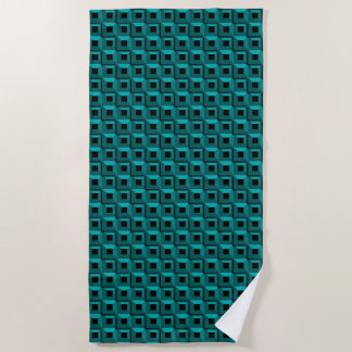 Barnacles in Turquoise Beach Towel
