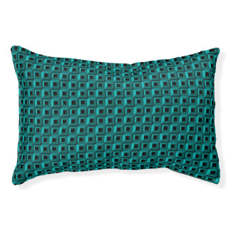 Barnacles in Turquoise Indoor Dog Bed