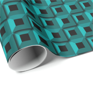 Barnacles in Turquoise Wrapping Paper