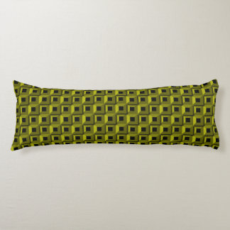 Barnacles in Yellow Body Pillow