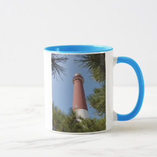 Barnegat Light and Pine Trees Mug