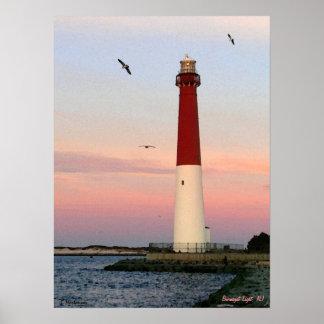 Barnegat Light , Long Beach Island, NJ Poster