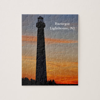 Barnegat Lighthouse at Sunset II Puzzle