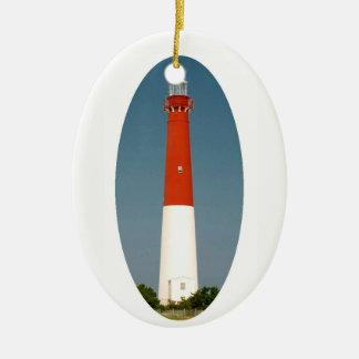 Barnegat Lighthouse Ceramic Ornament