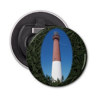 Barnegat Lighthouse Old Barney Button Bottle Opener