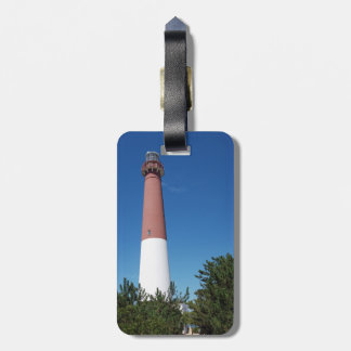 Barnegat Lighthouse Old Barney Luggage Tag