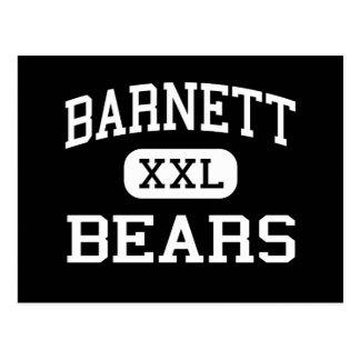 Barnett - Bears - Junior - Arlington Texas Postcard