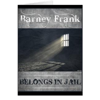 Barney Frank Greeting Card
