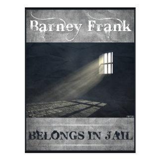Barney Frank Postcard