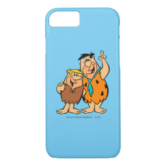 Barney Rubble and Fred Flintstone iPhone 7 Case