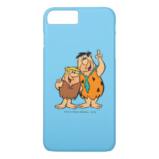 Barney Rubble and Fred Flintstone iPhone 7 Plus Case
