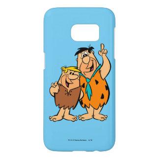Barney Rubble and Fred Flintstone Samsung Galaxy S7 Case