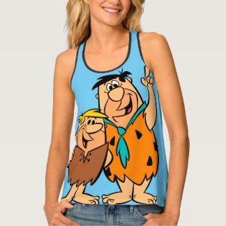 Barney Rubble and Fred Flintstone Tank Top