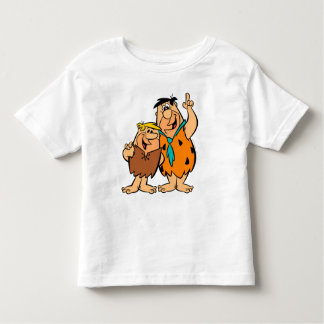 Barney Rubble and Fred Flintstone Toddler T-shirt