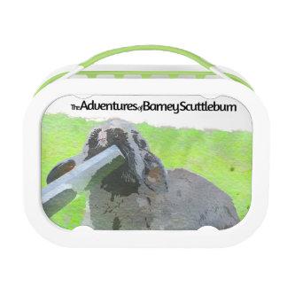 Barney Scuttlebum Lunch Bo Lunch Box