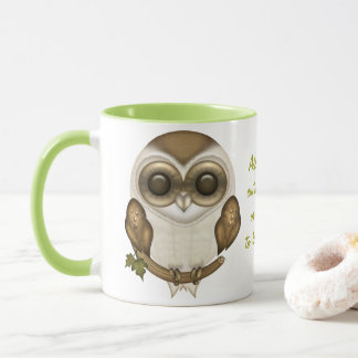 Barney The Barn Owl Mug