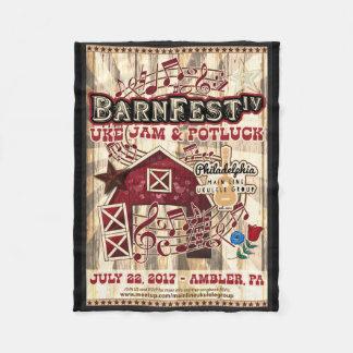 Barnfest IV Souvenir Blanket