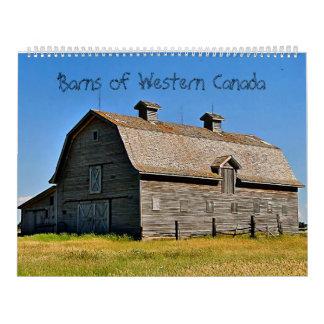 Barns of Western Canada Calendars