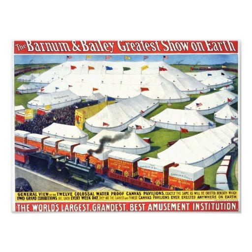 Barnum and Bailey Circus 1899 Photograph