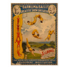 Barnum & Bailey / Trapeze Artists Postcard
