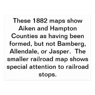 barnwell postcard