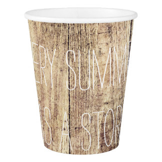 Barnwood Paper Cups Paper Cup