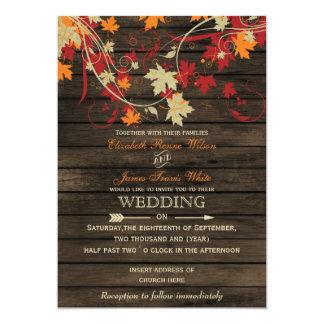 Fall Wedding Invitations Amp Announcements