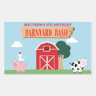 Barnyard Birthday Bash/Party