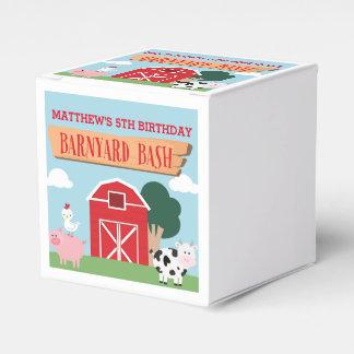 Barnyard Birthday Bash/Party Favor Boxes