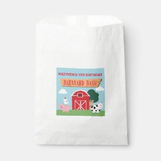 Barnyard Birthday Bash/Party Favour Bag